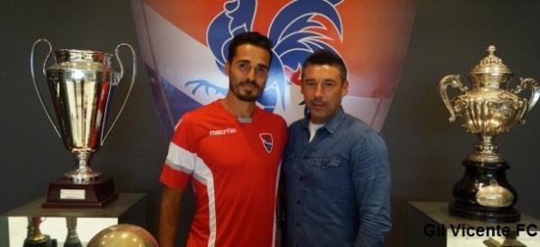 Luís Tinoco com Mário Faria (diretor desportivo)