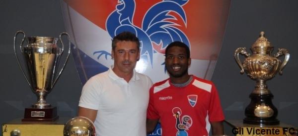 Miguel Abreu com Mário Faria (diretor desportivo)